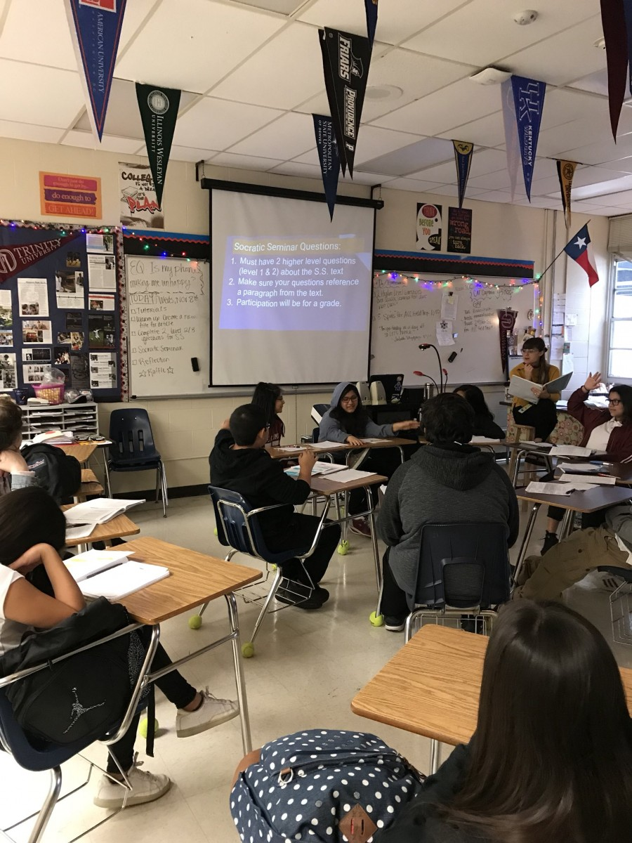 Socratic Seminar 7th grade AVID